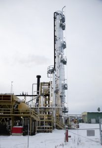 petroleum processing plant in Alaska
